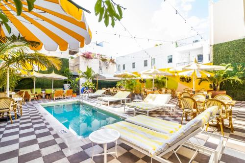 The swimming pool at or near Clinton Hotel South Beach
