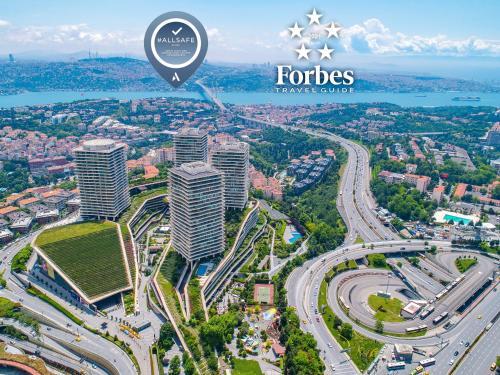 Raffles Istanbul с высоты птичьего полета