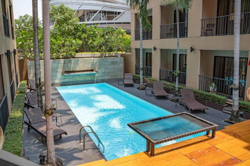 The swimming pool at or close to The Cottage Suvarnabhumi
