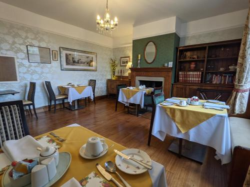 A restaurant or other place to eat at Shibden Hall View