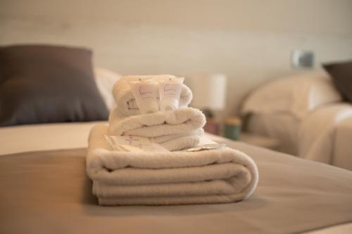 Letto o letti in una camera di Bed and breakfast Ma.Gi.A
