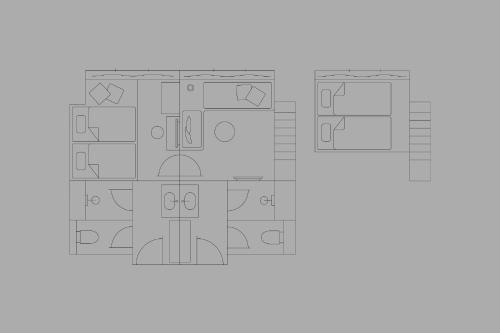 The floor plan of toggle hotel suidobashi TOKYO