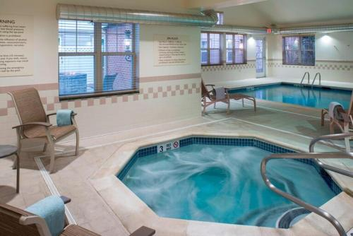 The swimming pool at or close to Residence Inn by Marriott Saratoga Springs