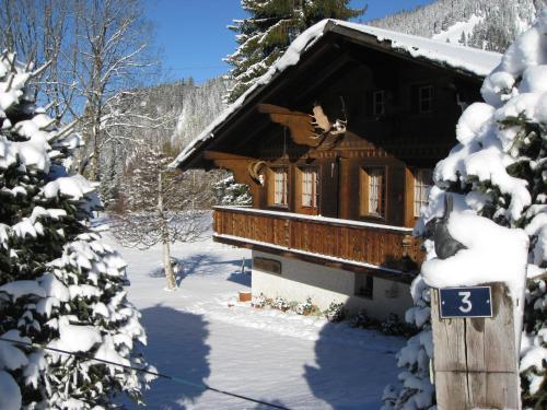 Chalet Nyati during the winter