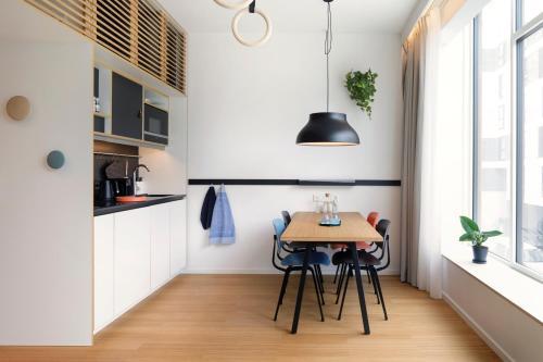 A kitchen or kitchenette at Zoku Copenhagen