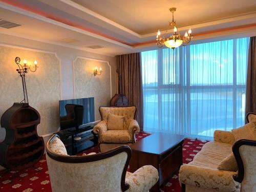 Гостиная зона в Гранд Отель Астрахань