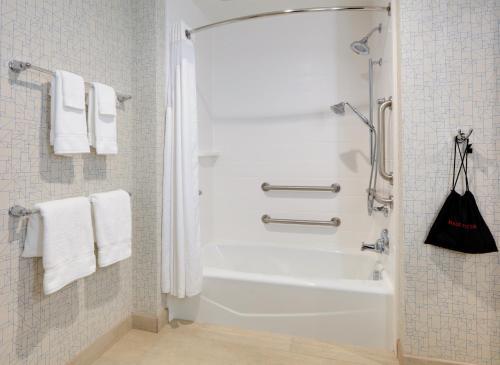 A bathroom at Holiday Inn Express & Suites - Dallas NW HWY - Love Field, an IHG Hotel