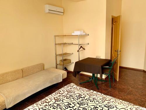 Кровать или кровати в номере Бутик Отель на Тимирязева