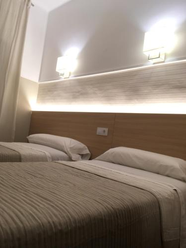 A bed or beds in a room at Fonda Can Setmanes