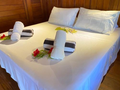 A bed or beds in a room at Bungalows Manuka 361 DTO-MT
