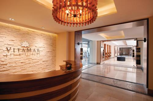 The lobby or reception area at Hyatt Ziva Puerto Vallarta