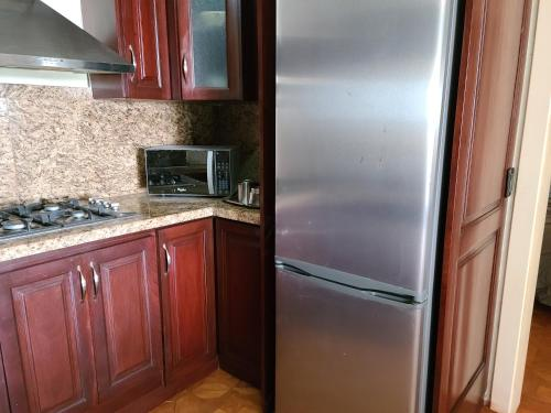 A kitchen or kitchenette at Villa Florencia