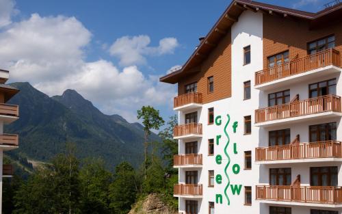 Отель Green Flow Роза Хутор
