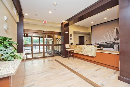 The lobby or reception area at Staybridge Suites Austin South Interstate Hwy 35, an IHG Hotel