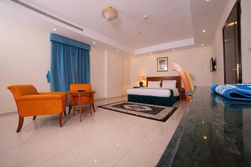 Uma área de estar em Al Jawharah Al Awla