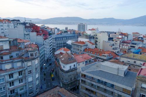 A bird's-eye view of Hotel Vigo Plaza