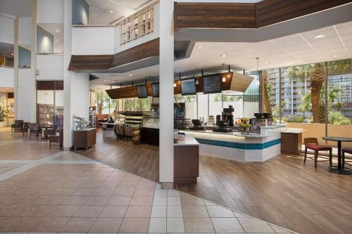 A restaurant or other place to eat at Hilton Myrtle Beach Resort