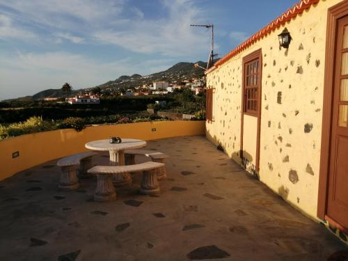 A balcony or terrace at Los Frailes