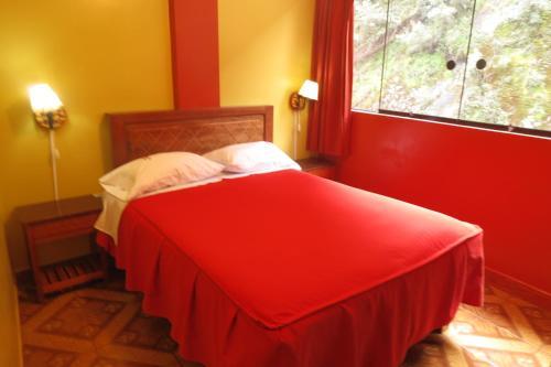 Un ou plusieurs lits dans un hébergement de l'établissement Adela´s