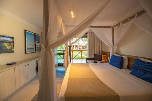 Cama ou camas em um quarto em Patachocas