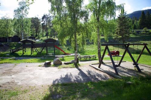 Lekeplass på Hunderfossen Hotel & Resort