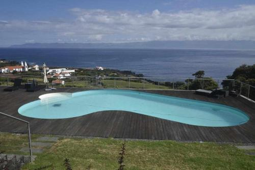 The swimming pool at or near A Casa do Ouvidor