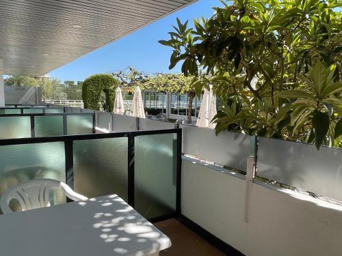 Un balcón o terraza de Hotel Valjunco