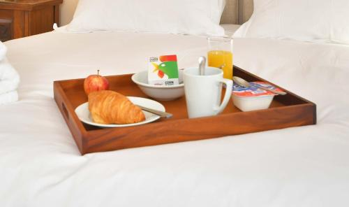 Breakfast options available to guests at The Sutherland Arms