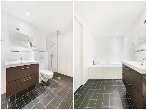 Een badkamer bij Ambassador City Centre Hotel