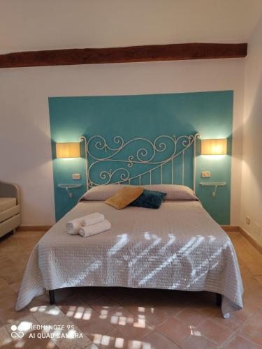 A bed or beds in a room at Cerchio Verde