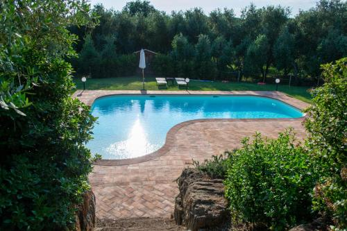 The swimming pool at or near Cerchio Verde