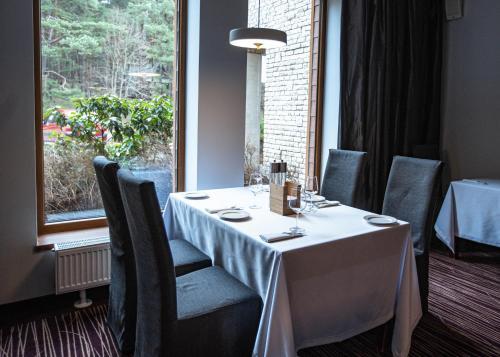 Restauracja lub miejsce do jedzenia w obiekcie Hotel Natura Residence Business&SPA