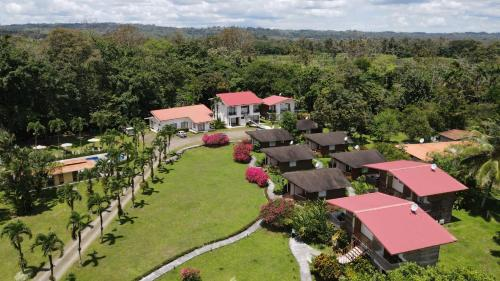 A bird's-eye view of Hotel Eco Arenal