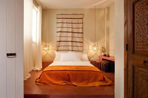 Letto o letti in una camera di La Casa Dell'Arancio
