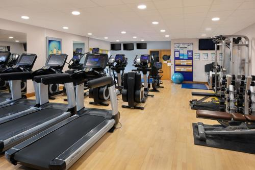 The fitness center and/or fitness facilities at Holiday Inn Southampton Eastleigh, an IHG Hotel