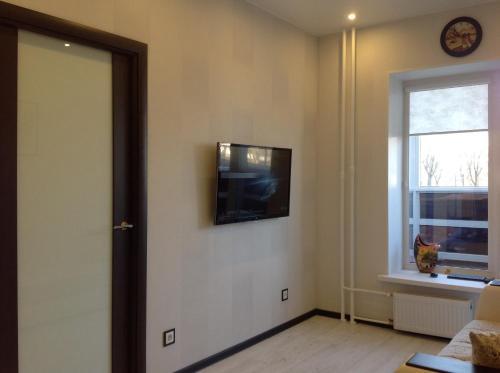 Телевизор и/или развлекательный центр в Phan Thiet Apartments