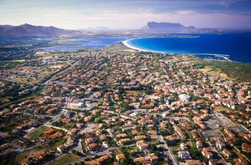 Vista aerea di SanTeodoroHouse camere e appartamenti
