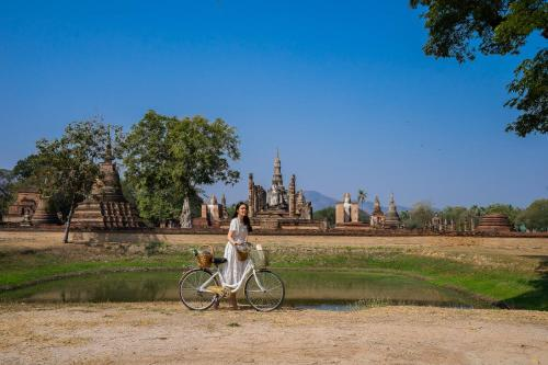 Biking at or in the surroundings of Legendha Sukhothai Hotel