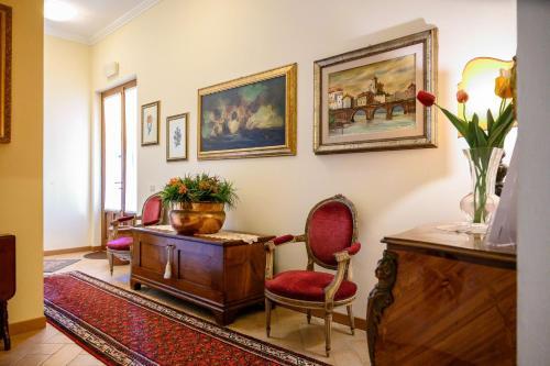 Hall o reception di B&B Villa Giulia