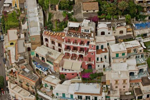 Vista aerea di Hotel Casa Albertina