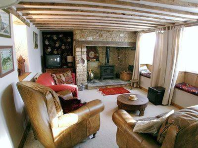 A seating area at Brook Cottage