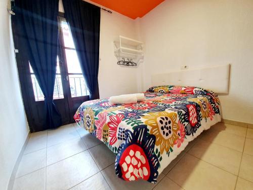 Cama o camas de una habitación en Arc House Ribera
