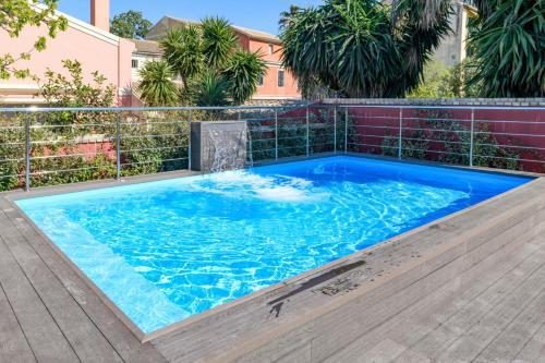 The swimming pool at or near Villa Nitsa