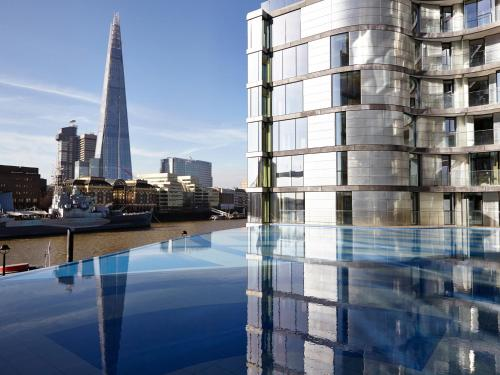 The swimming pool at or close to Cheval Three Quays at The Tower of London