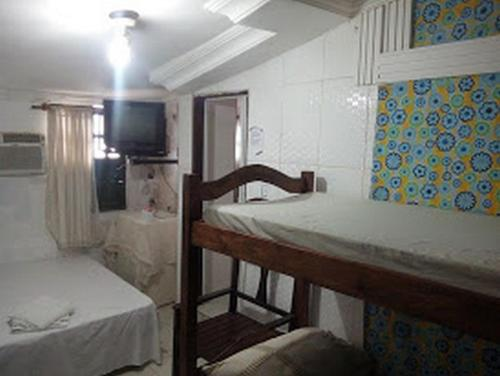 A bed or beds in a room at Casa Da Lucia