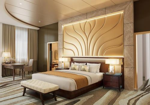A bed or beds in a room at Sunway Resort