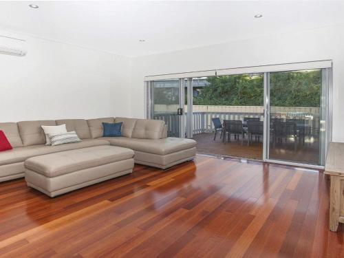 A seating area at Retreat on Manning- Kiama