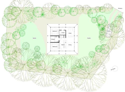 SHINMINKA Villa GUSHIKENの見取り図または間取り図