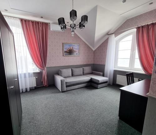 """Гостиная зона в Гостиница """"20 Меридиан"""" Зеленоградск"""