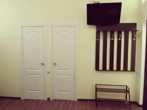Телевизор и/или развлекательный центр в Гостиница Изобильный